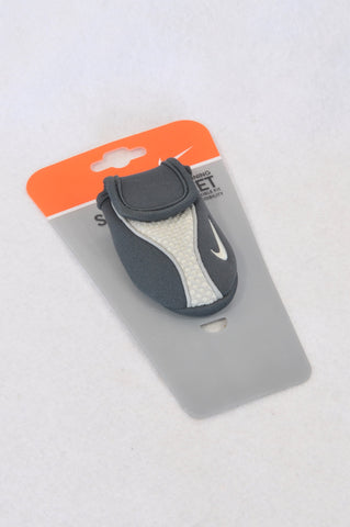 New Nike Black & Grey Shoe Wallet Accessory Women