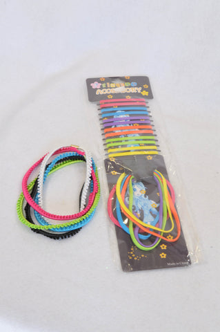 New Princess Accessory Multi Color Hair Tie & Headbands Girls 3-10 years