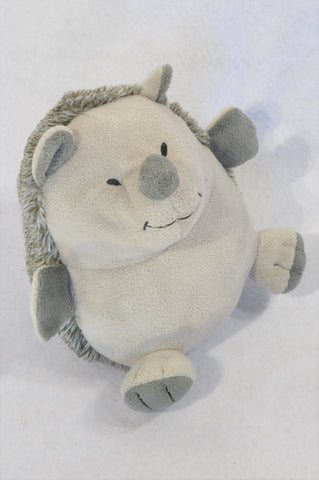 Unbranded Grey Cute Hedgehog Door Stop Unisex N-B to 3 years