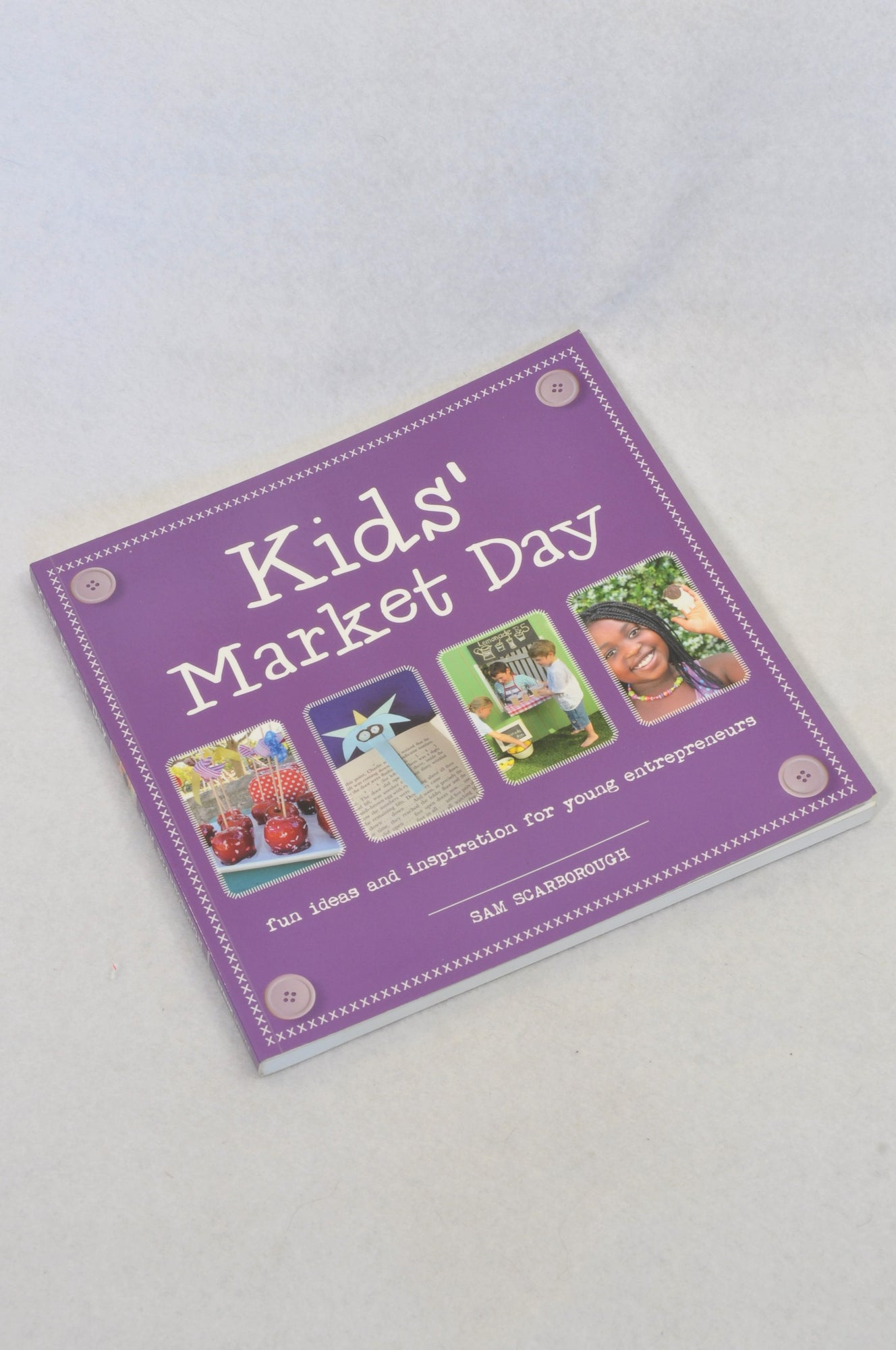 Unbranded Kids Market Day Book Unisex 4-10 years