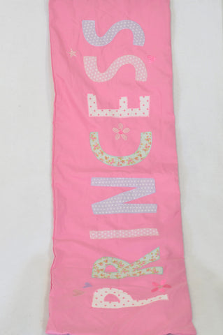 Pink Princess Patchwork Pillowcase Decor Girls All Ages