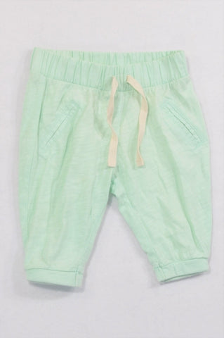 Country Road Mint Banded Jogger Pants Girls 3-6 months