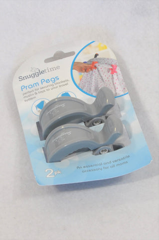 New Snuggletime Pram Pegs Accessory Unisex N-B to 2 years