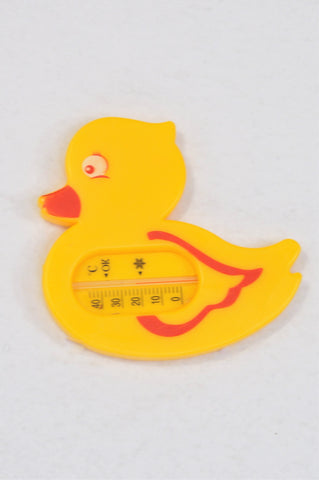 Unbranded Yellow Duckling Water Thermometer Unisex N-B to 2 years