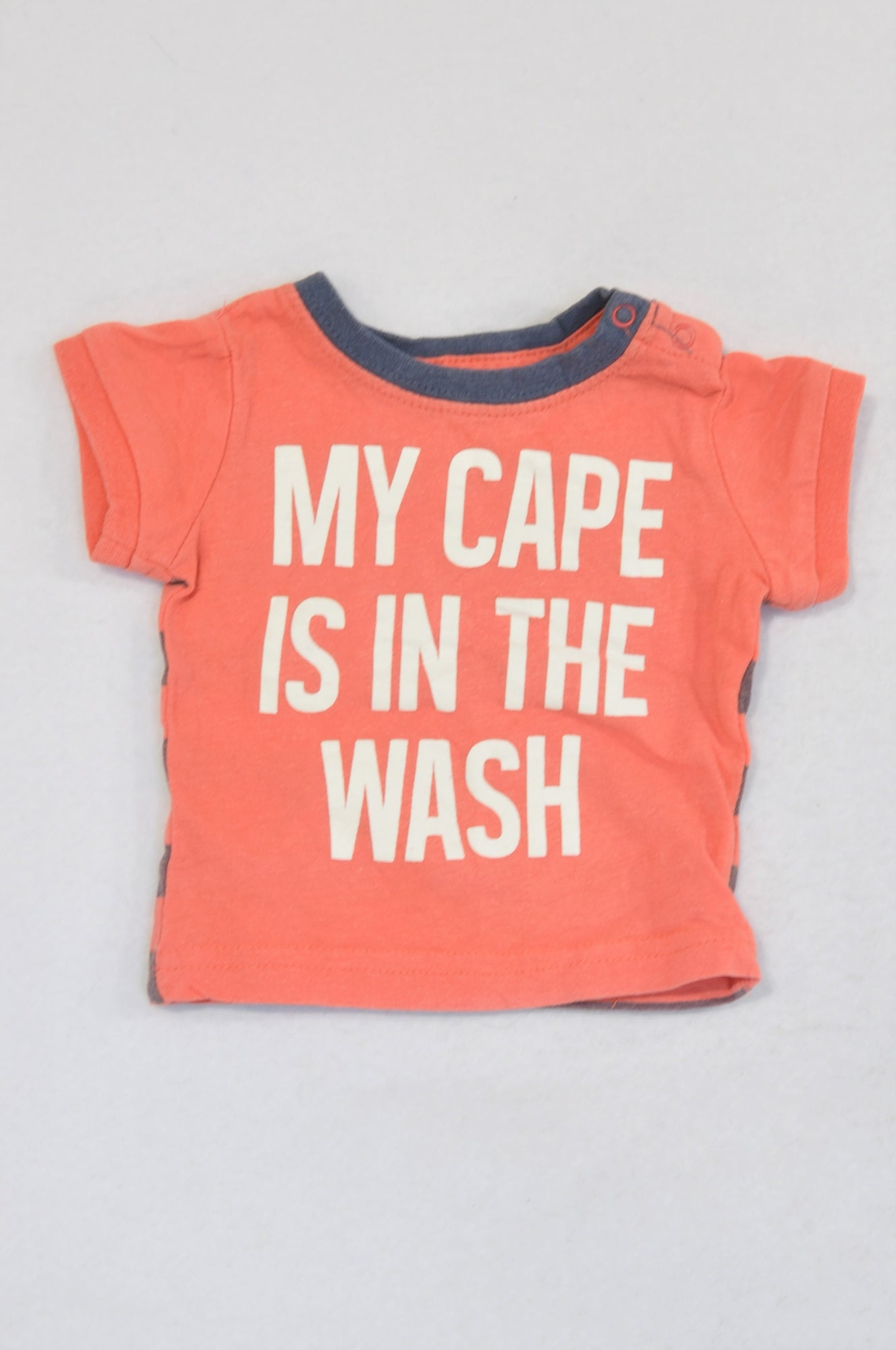 Cotton On Coral Cape In The Wash T-shirt Boys N-B