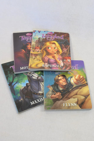 Unbranded 4 Pack Tangled Character Hardcover Books Unisex 3-10 years