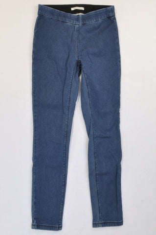 Trenery Dark Denim Jeggings Women Size 8