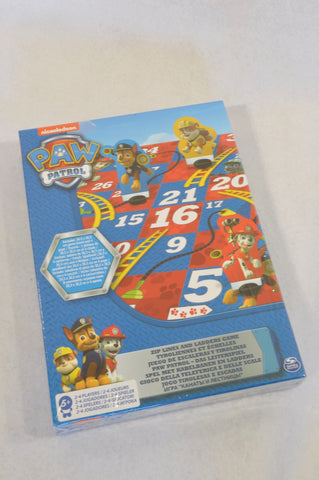 New Nickelodeon Paw Patrol Snakes & Ladders Game Unisex 5+ years