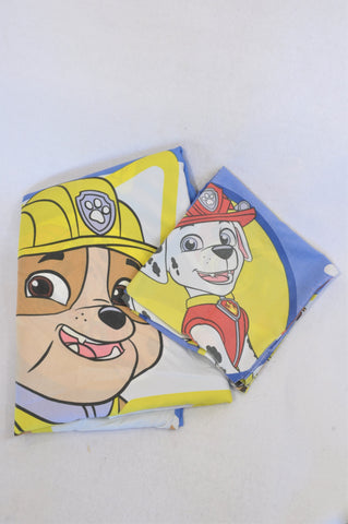Nickelodeon Blue Paw Patrol Single Bed Pillow Case & Duvet Cover Unisex 3-10 years