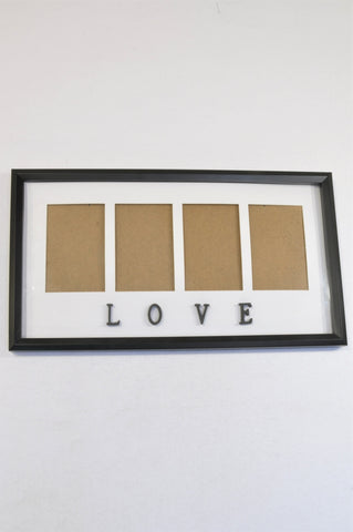 Unbranded 3 Picture Frame LOVE Decor Unisex All Ages