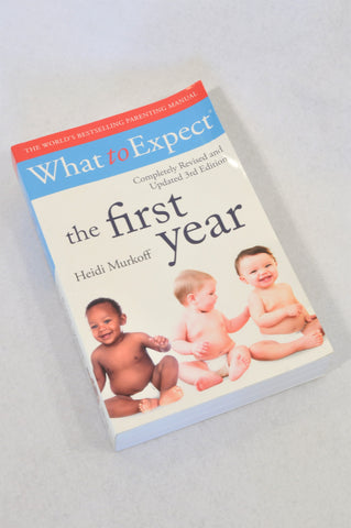 Unbranded The First Year What To Expect Parenting Book Unisex N-B to 1 year