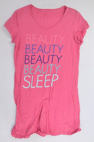 Woolworths Pink Beauty Sleep Nighty Women Size S