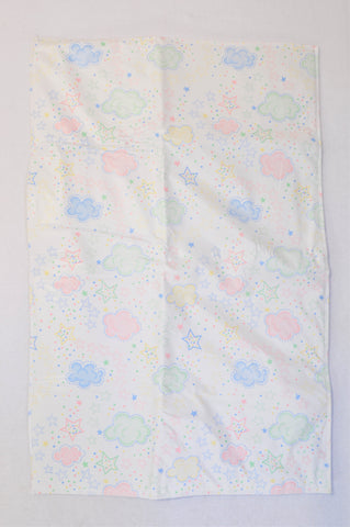 Unbranded Multi Color Cloud Traveling Changing Mat Unisex N-B to 2 years