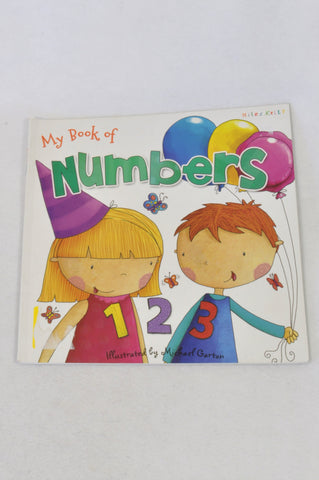 1,2 Numbers Book Unisex 2-6 years