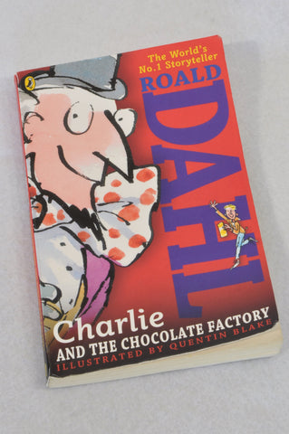 Unbranded Charlie & The Chocolate Factory Roald Dahl Paperback Book Unisex 6+ years