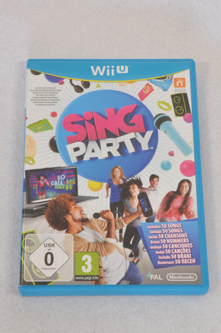 Unbranded Sing Party Nintendo Network Wii Game Unisex 3-10 years