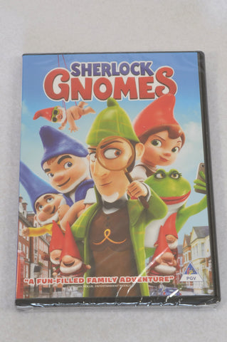 New Unbranded Sherlock Gnomes Kids DVD Unisex 4-10 years