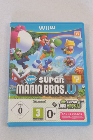 Super Mario Bros. Nintendo Wii Game Unisex 4-10 years