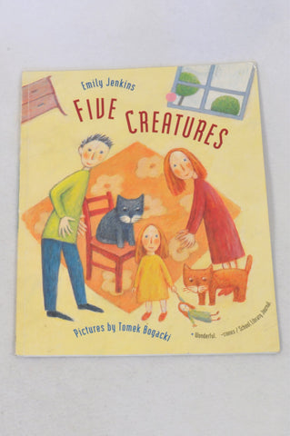 Five Creatures Book Unisex 2-6 years