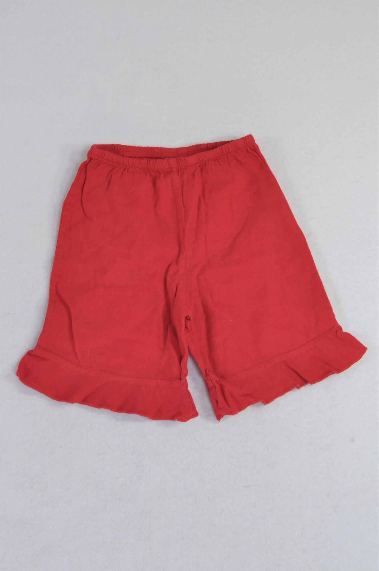 Keedo Red Lightweight Pants Girls 3-6 months