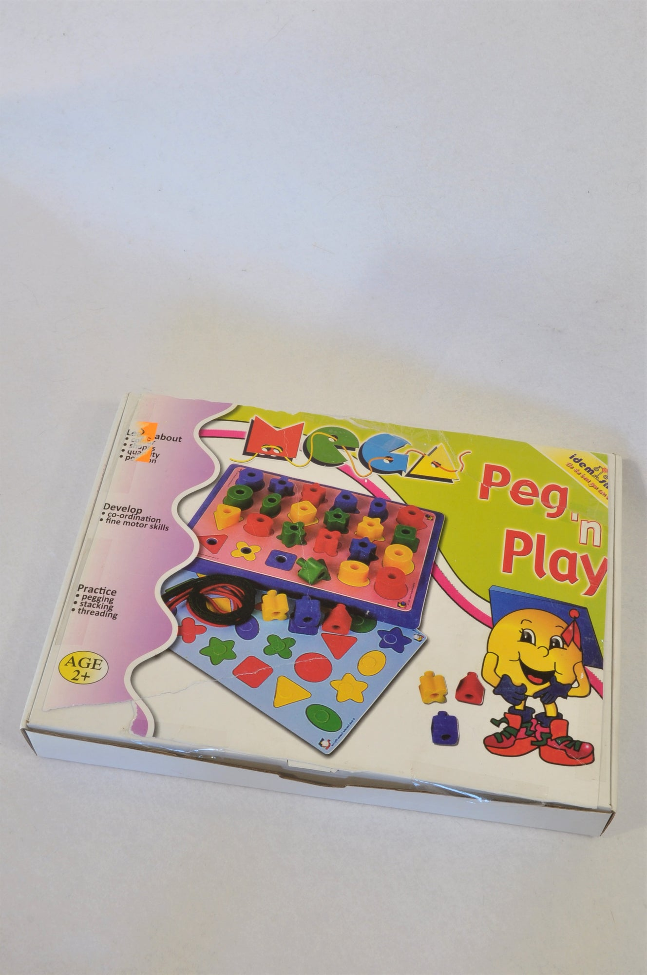 Unbranded Mega Peg & Play Toy Unisex 2-6 years