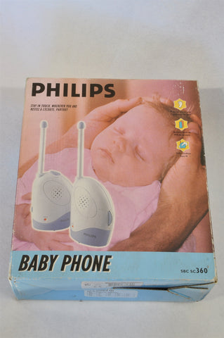 Phillips Sound SBC SC360 Baby Monitor Unisex N-B to 1 year