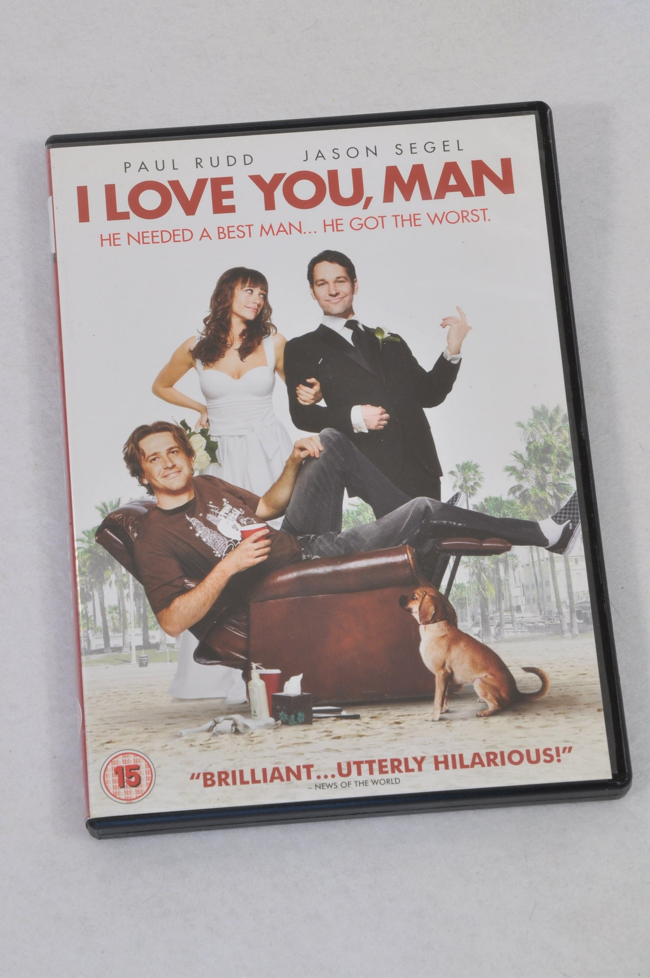 Unbranded I Love You, Man DVD Women