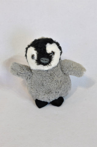 Wild Stuff Grey & Black Penguin Soft Toy Unisex 1-10 years