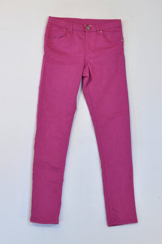 H&M Purple Lightweight Skinny Jeans Girls 12-13 years