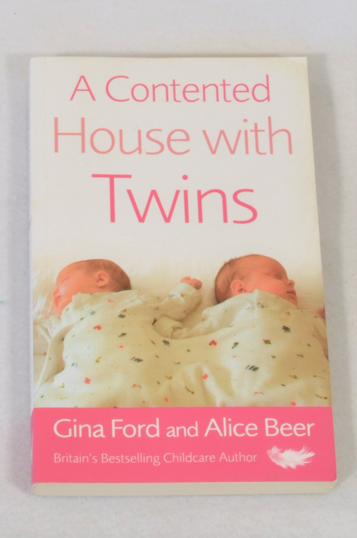 A Contented House With Twins Book Unisex N-B to 2 years