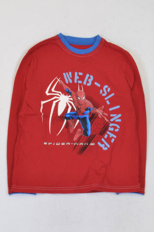 Pick 'n Pay Red & Blue Spiderman T-shirt Boys 9-10 years