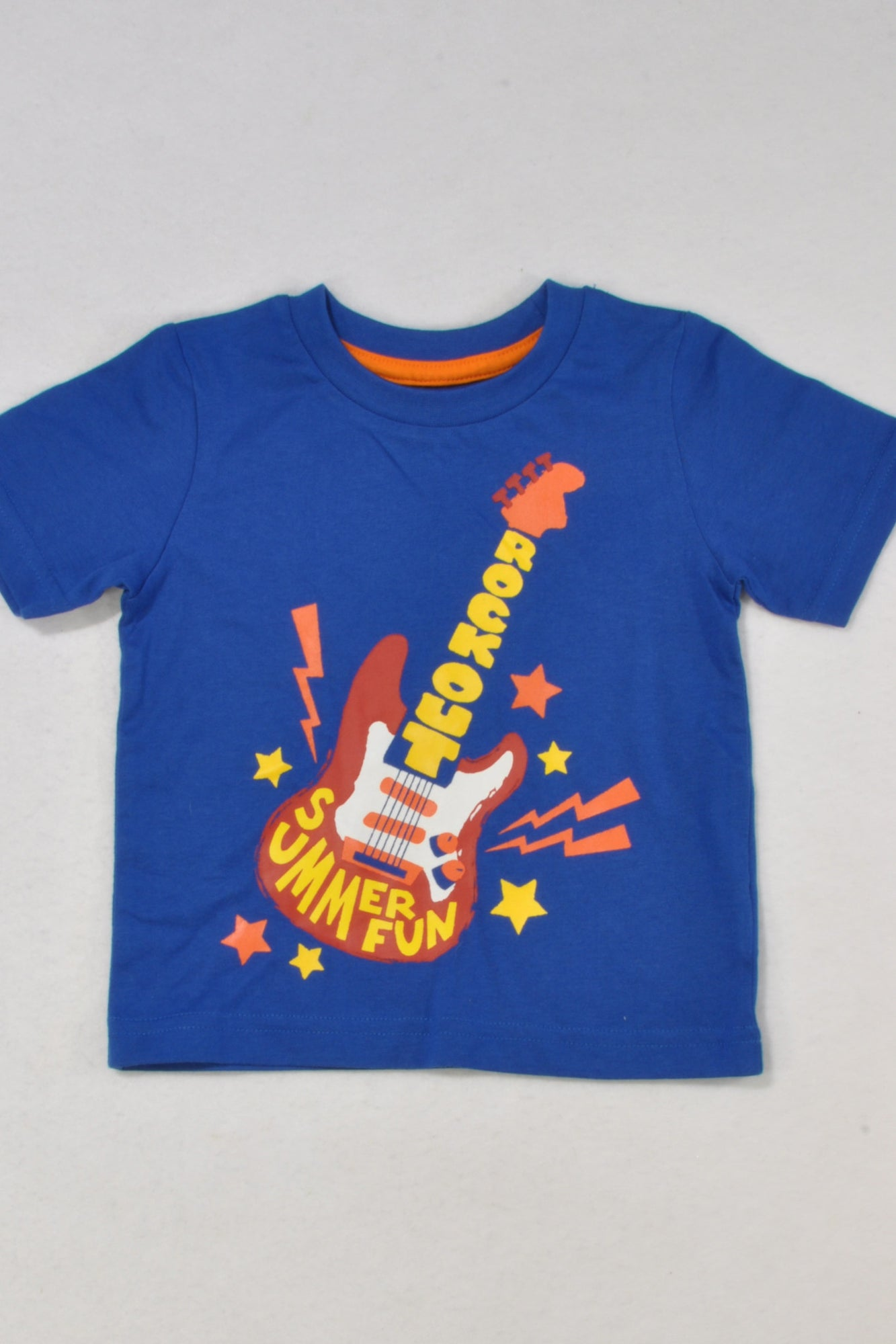9933764882a6 New Mothercare Rock Out T-shirt Boys 9-12 months – Once More