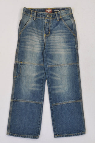 OshKosh Stone Washed Cargo Jeans Boys 5-6 years