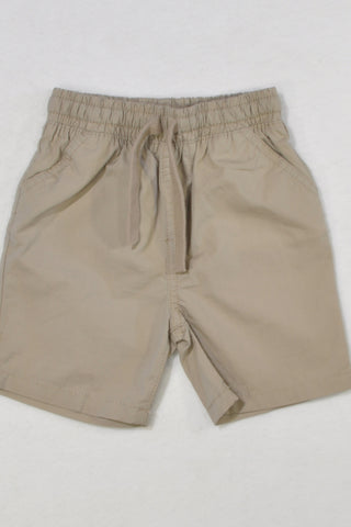 New Mothercare Beige Shorts Boys 9-12 months