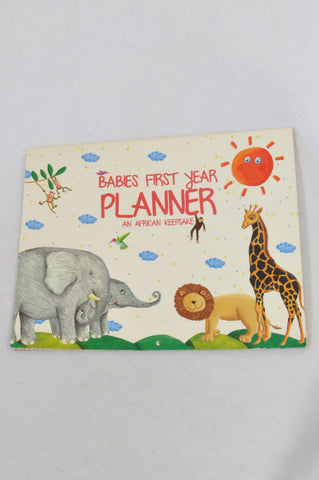 Babies First Year Planner Parenting Book Unisex N-B to 1 year