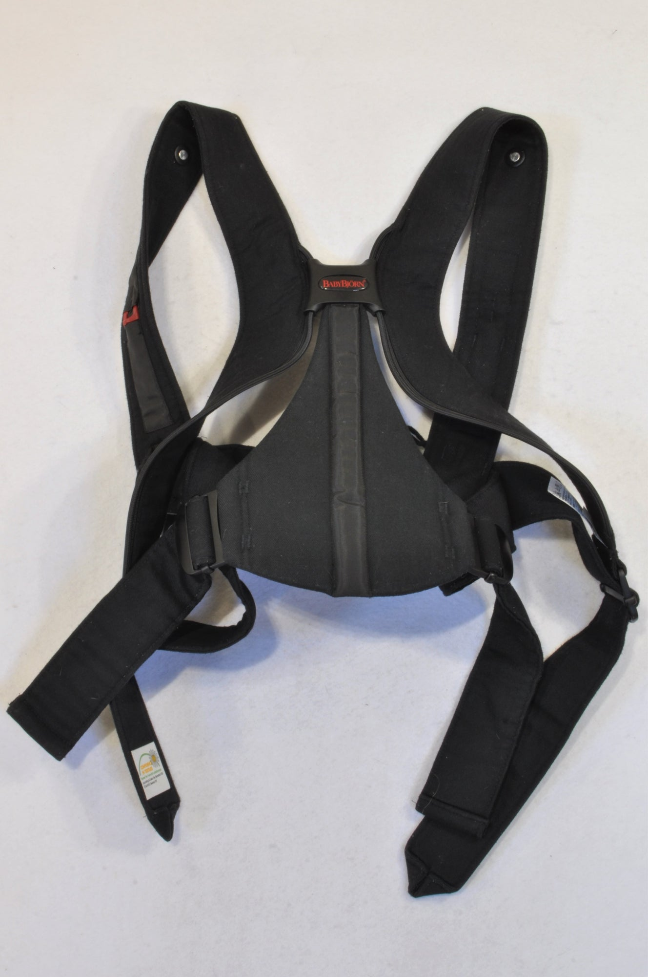 Baby Bjorn Red Black Active Baby Carrier Unisex Nb To 18 Months