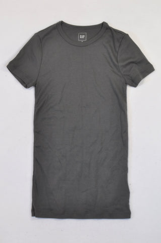 GAP Basic Charcoal Body Fit T-Shirt Girls 12-14 years
