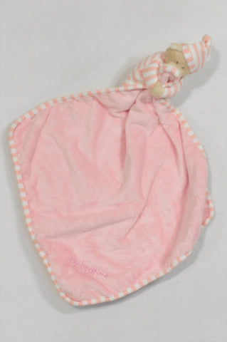 Mothercare Pink Fleece Bedtime Blankie Soother Accessory Girls N-B