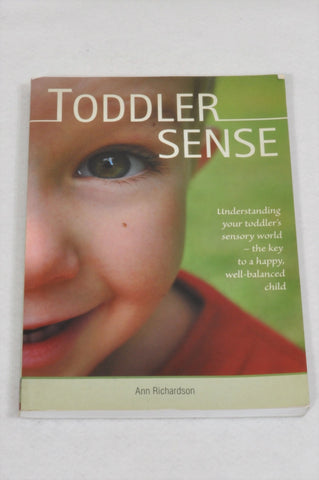 Toddler Sense Parenting Book Unisex 1-3 years