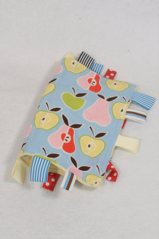 Blue Fruity Tag Soother Accessory Unisex N-B to 2 years