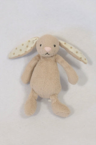 Zara 2 Pack Brown Bunny Soother Toys Unisex N-B to 2 years