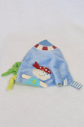 Blue Pirate Tag Soother Accessory Boys N-B