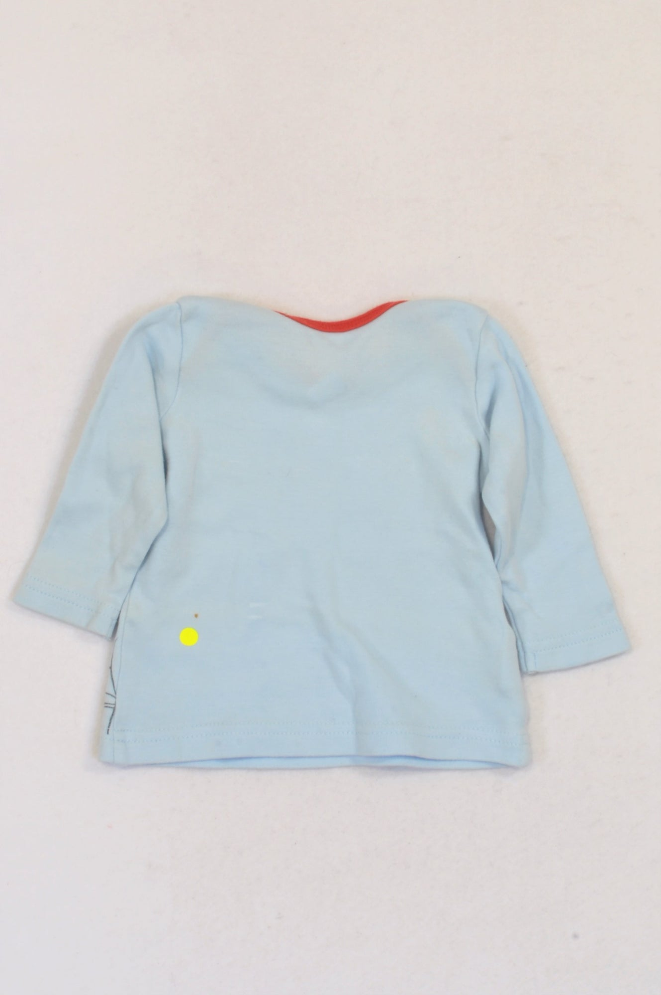 Woolworths Soft Blue Pooh & Tigger T-shirt Boys 0-3 months