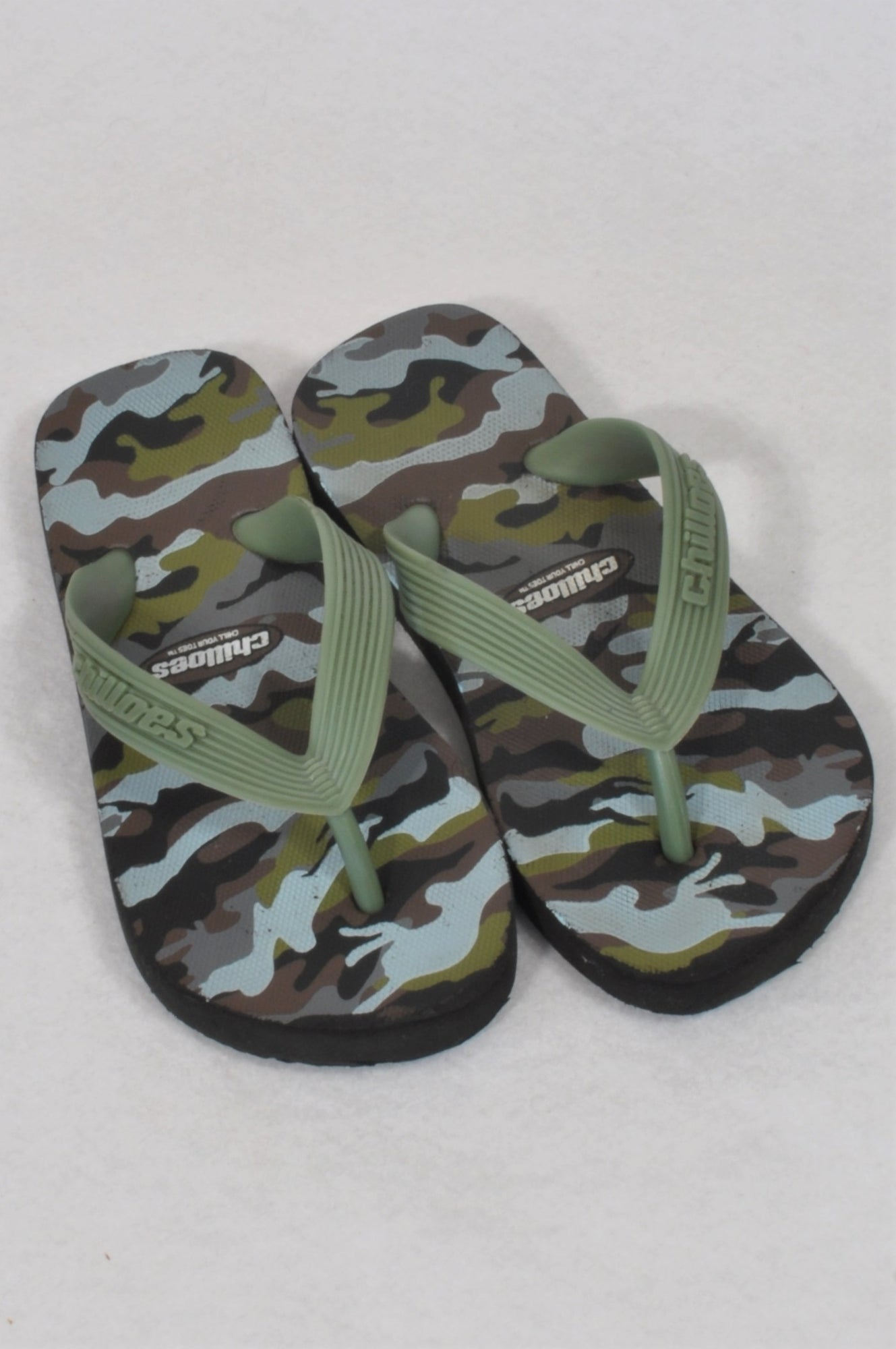 164e7cd48 Chilloes Size 9 Olive Army Style Sandals Boys 3-4 years – Once More