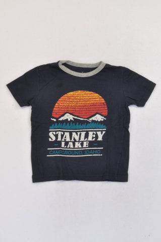 Pick 'n Pay Navy Stanley Lake T-shirt Boys 5-6 years