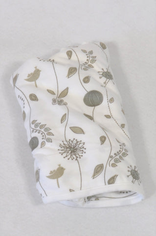 Baby Sense Brown & White Floral Nursing Cover Accessory N-B to 2 years