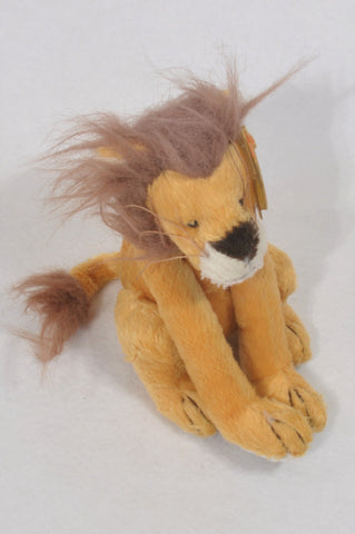 Ty Lion Plush Toy Unisex All Ages