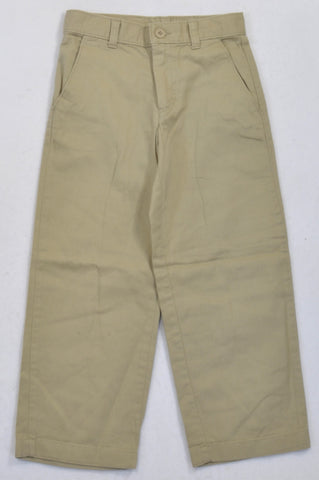 Woolworths Basic Beige Chino Pants Boys 4-5 years