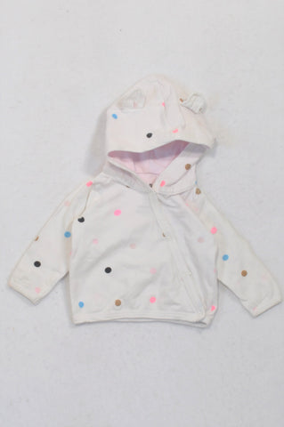 Cotton On Multicolored Dotty Jacket Girls N-B
