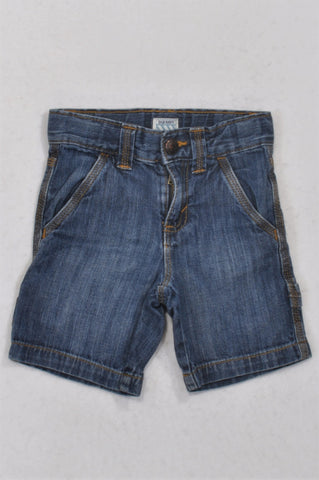 Old Navy Basic Stone Washed Denim Shorts Boys 2-3 years